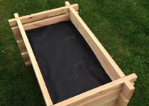 sedo hochbeete aus naturbelassenem holz douglasie und. Black Bedroom Furniture Sets. Home Design Ideas